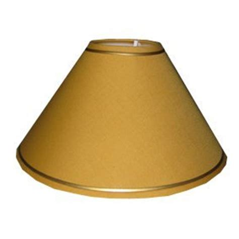 gold l shades amazon pack 4 10 quot mustard yellow l shade with gold trim