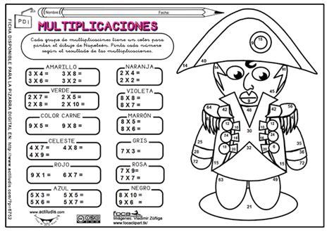imagenes para colorear tablas de multiplicar multiplicaciones en dibujos para pintar dibujos para pintar