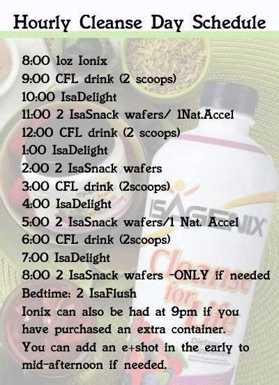 Detox And Cleansing In Milwaukee Wi by 14 Best Isagenix Images On Isagenix Meal Plan