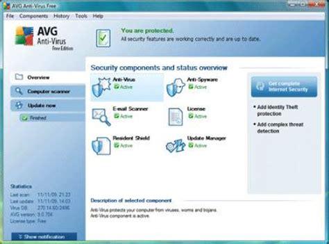 Avg Anti Virus Untuk 4 Komputer 2 Tahun 10 anti virus gratis terbaik
