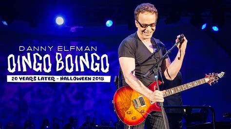 danny elfman halloween music danny elfman doing dead man s party with steve bartek