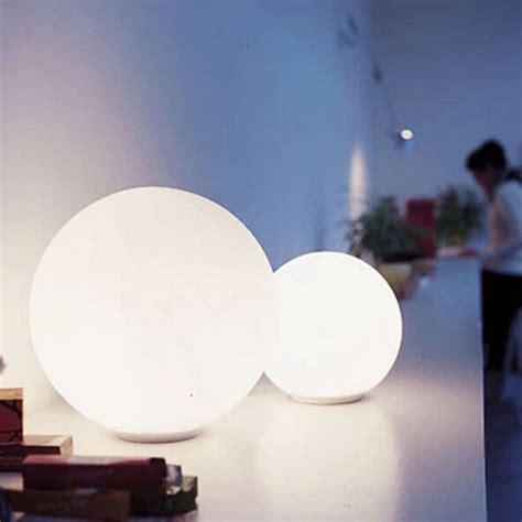 Shell Sconce Modern White Depolished Glass Ball Floor Lamp 9183