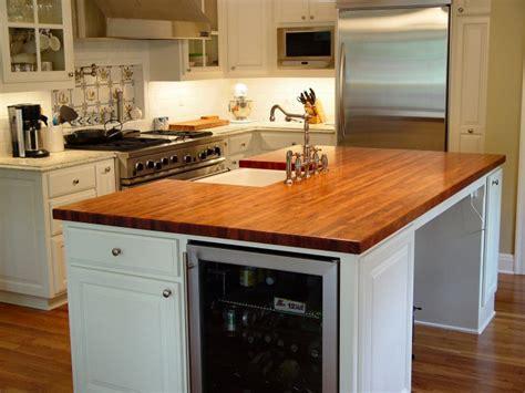 countertops for kitchen islands mesquite custom wood countertops butcher block