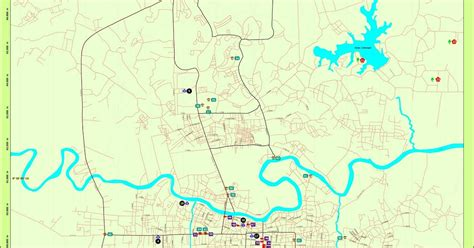 peta kota peta kota pekanbaru
