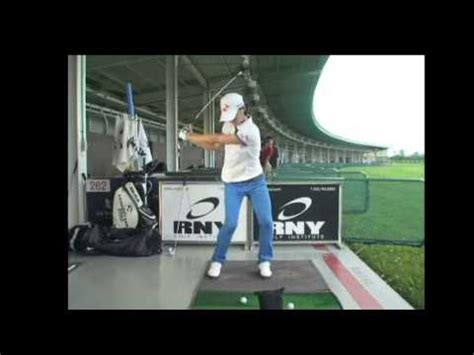 na yeon choi golf swing na yeon choi golf swing 6 iron front youtube