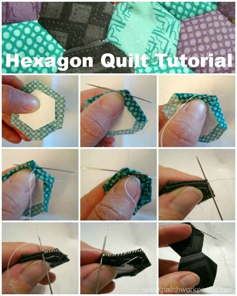 Hexagon Quilt Tutorial by Hexagon Quilt Tutorial