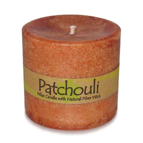 Patchouli Candles Patchouli Pillar Candle