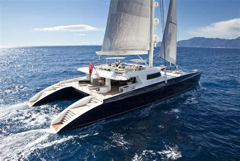 largest sale boat in the world pendennis hemisphere largest luxury sailing catamaran in