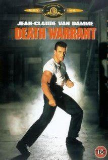 glorious year 1990 death warrant van damme vs sandman the death warrant dvd release date
