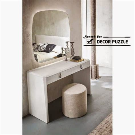 modern dressing table luxury modern white dressing table designs with mirror and