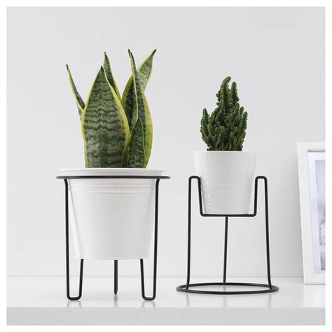 ikea plant stand sommar 2018 plant stand in outdoor black 19 cm ikea