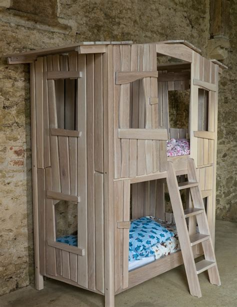 Tree House Bunk Bed The Tree House Bunk Bed For The Home Pinterest