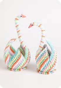 Origami Triangle Swan - 26 best images about triangle origami on