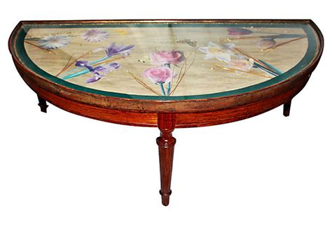 Decoupage End Table - decoupage table circa 1940s omero home