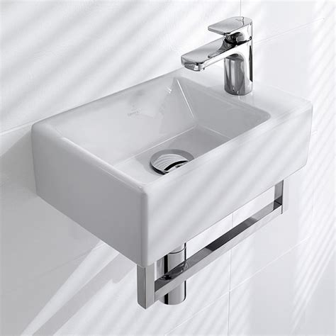 English Country Kitchen Design villeroy amp boch memento hand washbasin white with