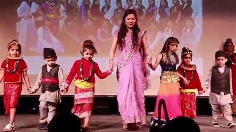 Dress Nesa showcase of traditional nepali costumes nepal nite 2016