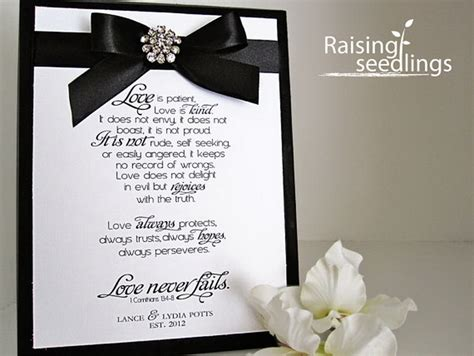 Wedding Bible Verses by Corinthians Bible Verse Wedding Anniversary Gift Etsy