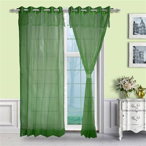 lemon green curtains buy just linen pair of lemon green two tone eyelet double