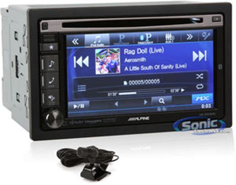 alpine ive w535hd double din bluetooth car stereo w/ hd radio