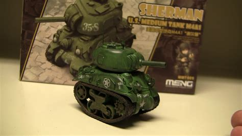 Fujimi Chibi Maru Type 10 Tank With Dozer world war sherman tank meng model