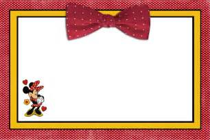 powerpoint invitation templates printable minnie mouse birthday invitations bagvania