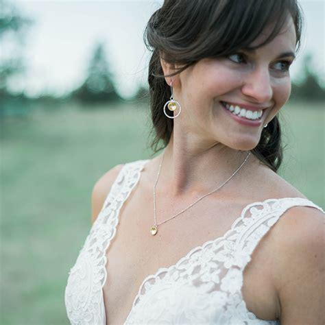 schlichter brautschmuck simple bridal jewelry mendel jewelry