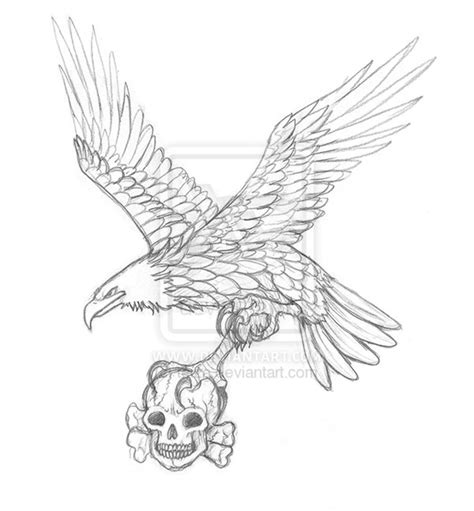 tattoo eagle drawing eagle tattoo by teiza on deviantart