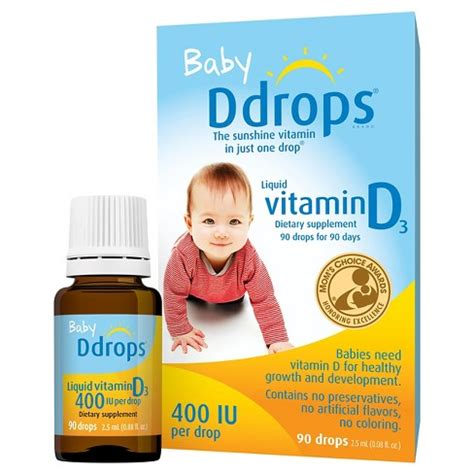 Appeton Infant Drops ddrops baby vitamin d dietary supplement liquid drops 2