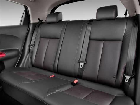 nissan juke interior back seat image 2011 nissan juke awd 5dr wagon i4 cvt sv rear seats