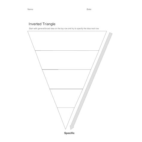 inverted triangle pattern in c inverted triangle