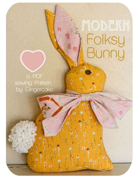 pattern sewing bunny 17 best images about easter spring on pinterest wood