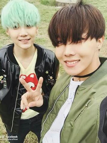 why is suga and j hope so cute and handsome in this picture?!