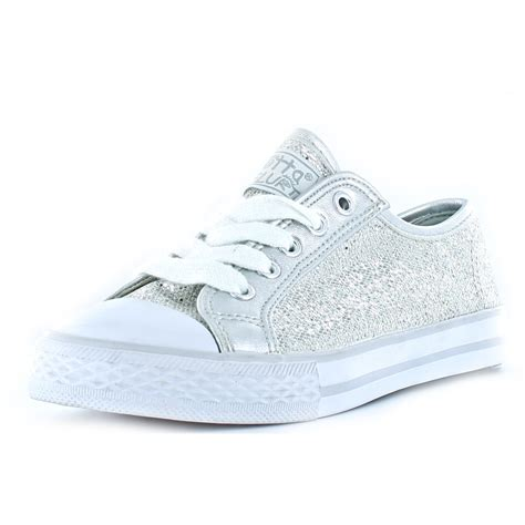 silver sneakers clearance gotta flurt disco silver sequin sneakers