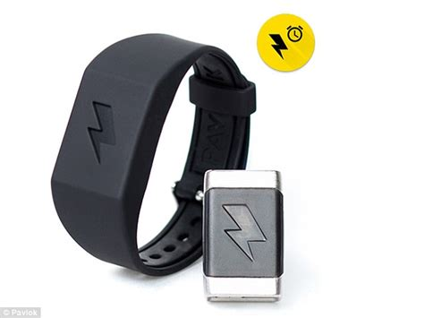 pavlok shock clock startles you into waking up by using electric shocks daily mail