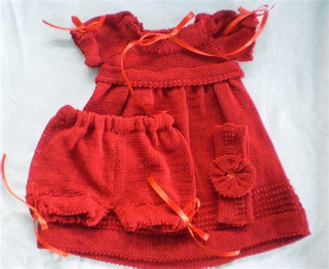 vestidos para bebes de tejido vestidos tejidos bebe