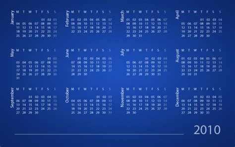 design calendar in photoshop create a calendar using scripting in photoshop