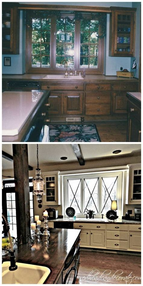 the 159 kitchen makeover revealed 80 s before and after 25 budget friendly kitchen makeover ideas