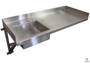 kitchen sinks stainless steel industrial kitchen table