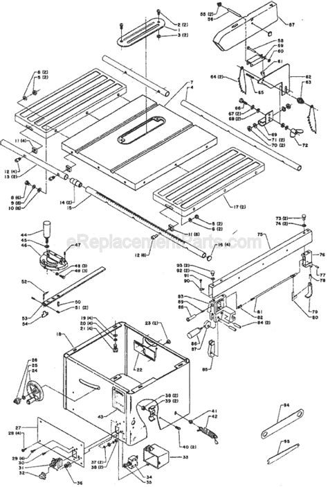 delta bench saw parts delta table saw motor wiring diagram get free image about wiring diagram