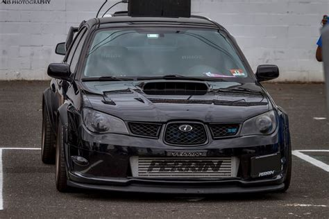Subaru Impreza Wrx Sti Hawkeye Black Cars And Roads