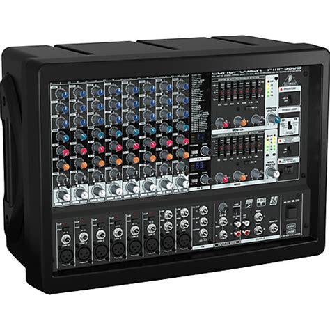 Mixer Power Mixer behringer europower pmp980s powered mixer musician s friend