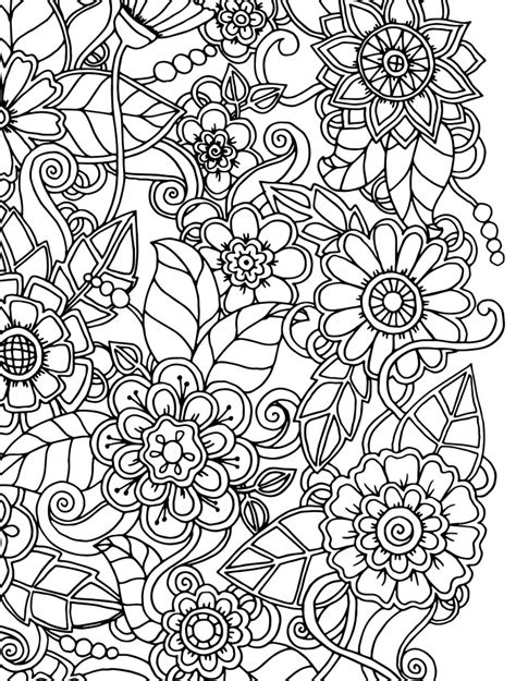 Busy Coloring Pages 15 Crazy Busy Coloring Pages For Adults Page 4 Of 16