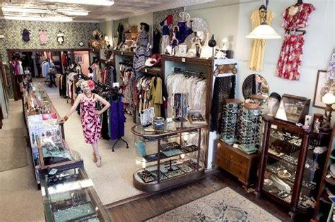 bygones interior picture of bygones vintage clothing