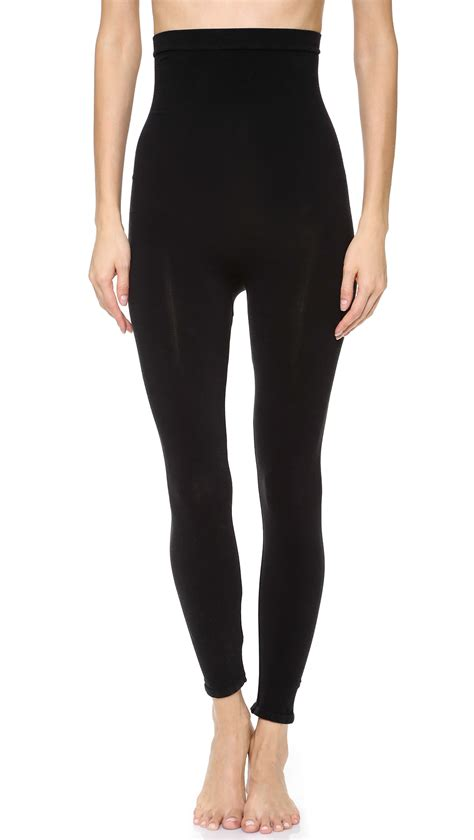 High Rise Legging spanx look at me high rise in black lyst