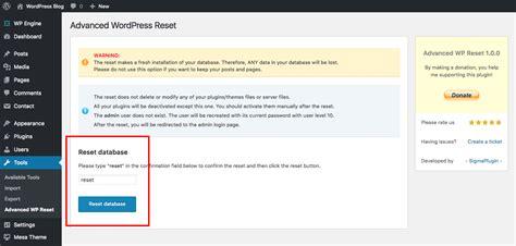 reset tool plugin nextgen the easiest way to reset your wordpress website wpexplorer