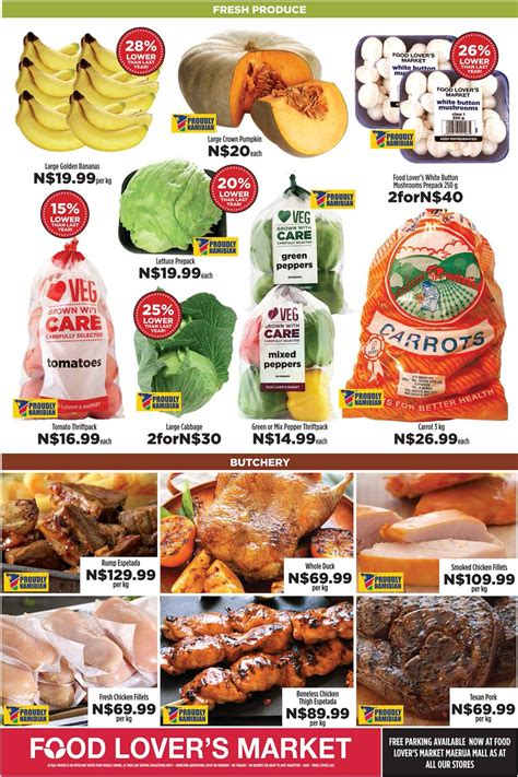 To Market Special Treats by Specials Namibia Specialsnamibia