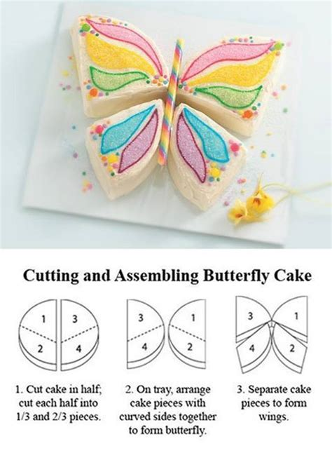 template for butterfly cake cakes pinterest
