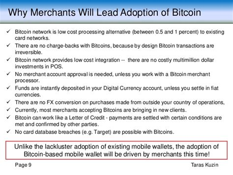 Bitcoin Merchant Account 5 by Why Bitcoin Adoption Will Continue To Grow