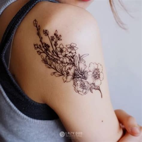 name tattoo temporary best 25 bouquet tattoo ideas on pinterest flower