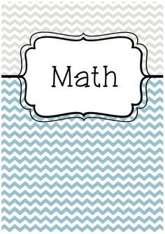 printable math binder covers 1000 images about school on pinterest binder covers
